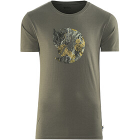 Fjällräven Rock Logo Shortsleeve Shirt Men grey
